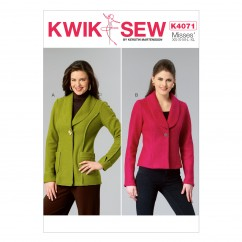 K4071 Misses' Jackets (size: All Sizes In One Envelope)