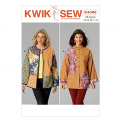 K4086 Misses' Jackets (size: All Sizes In One Envelope)