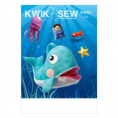 K4091 Jonah and Whale Toy (size: One Size Only)