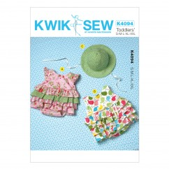K4094 Baby Rompers and Hat (size: S - XXL)