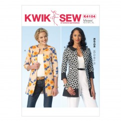 K4104 Misses' Jackets (size: XS - XL)