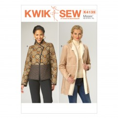 K4139 Misses' Jackets (size: XS - XL)