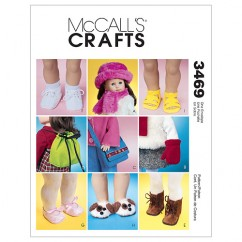 "M3469 18"" Doll Accessories (size: One Size Only)"