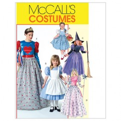 M4948 Misses'/Children's/Girls' Costumes (size: (3-4) (5-6) (7-8))