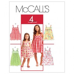 M5613 Children's/Girls' Dresses (size: 7-8-10-12-14)