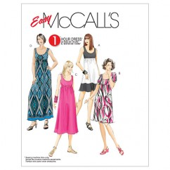 M5893 Misses'/Women's Dresses In 4 Lengths (size: 8-10-12-14-16)