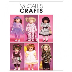 "M6005 Clothes and Accessories for 18"" Doll (size: One Size Only)"