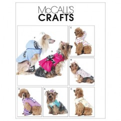 M6218 Pet Clothes (size: All Sizes In One Envelope)