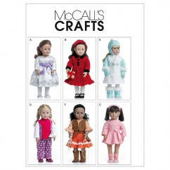 "M6257 Clothes For 18"" Doll (size: One Size Only)"