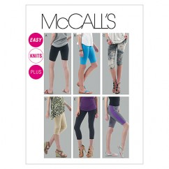 M6360 Misses'/Women's Leggings In 4 Lengths (size: 6-8-10-12-14)
