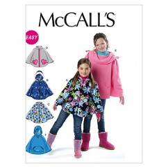 M6431 Children's/Girls' Ponchos (size: MED-LRG-XLG)