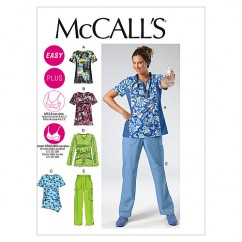 M6473 Misses'/Women's Tops and Pants (size: 18W-20W-22W-24W)