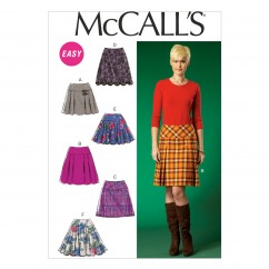 M7022 Misses' Skirts (size: 14-16-18-20-22)