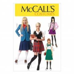 M7141 Misses' Costumes (size: 6-8-10-12-14)