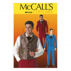 M7216 Men's Costumes (Size: SML-MED-LRG-XLG-XXL)