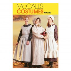 M7220 Misses' Pioneer Costumes (Size: 8-10)