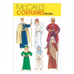 M7228 Christmas Costumes (Size: 6-8)