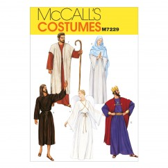 M7229 Christmas Robe Costumes (Size: 40-42)
