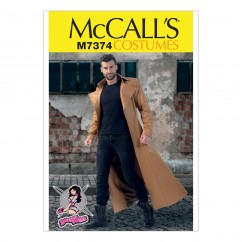 M7374 Collared and Seamed Coats (size: 38-40-42-44)