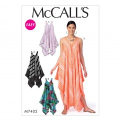 M7402 Misses' Dresses and Jumpsuit (size: 4-6-8-10-12-14)