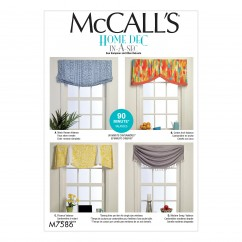 M7586 Window Valances (size: All Sizes In One Envelope)