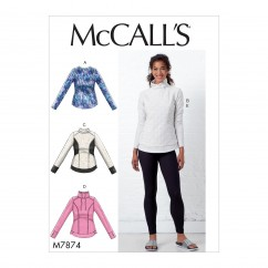 M7874 Misses' Tops and Leggings (size: L-XL-XXL)