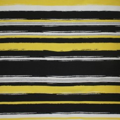 Lili Rayon coordinate - Horizontal stripes - Yellow / Navy