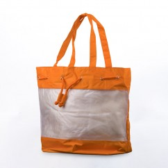 Tote Bag - Orange - 14 x 18''