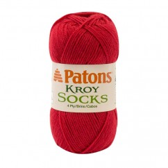 PATONS KROY SOCKS FX - red