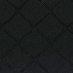 Quilted Back to Back Broadcloth - Black