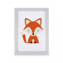 Photo Frame Fox  - Orange - 5 x 7''