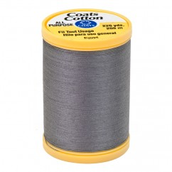 COATS COTTON ALL PURPOSE 205M-225YD SLATE