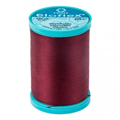 ELOFLEX STRETCH THREAD 205M BARBERRY RED