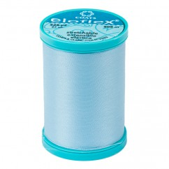 ELOFLEX STRETCH THREAD 205M ICY BLUE