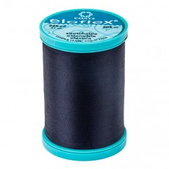 ELOFLEX STRETCH THREAD 205M NAVY