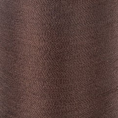 ELOFLEX STRETCH THREAD 205M - DARK BROWN