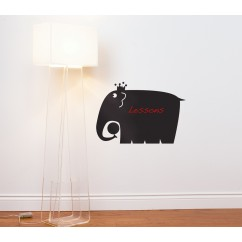 Adhesive Blackboard wall decals - Elephant