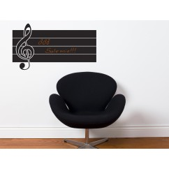 Adhesive Blackboard wall decals - Leave a Note