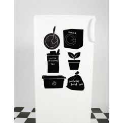 Adhesive Blackboard wall decals - Memoticons