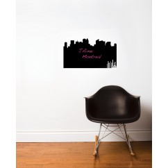 Adhesive Blackboard wall decals - Panorama 514