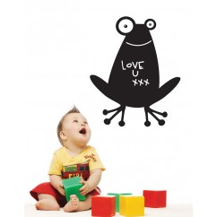 Adhesive Blackboard wall decals - Frog
