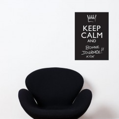 Adhesive Blackboard wall decals - Keep Calm And…