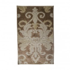 Soft Decorative Mat for Living Room, Bedroom, Bathroom and Kitchen - Elegant - Taupe - 26 x 59 inch (67 x 143 cm)