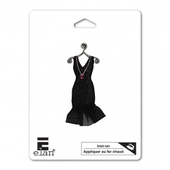 ELAN Motif - Black Dress - 62mm -1 pcs