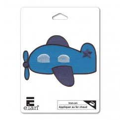 ELAN Motif - Airplane - 82mm -1 pcs