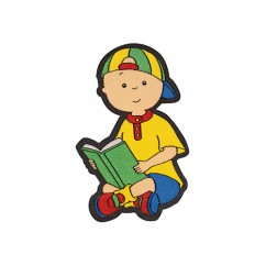 ELAN Motif - Caillou Reading - 80mm -1 pcs