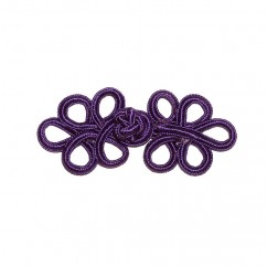 ELAN Frog Fastener - Purple -1 pcs