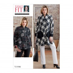 V1598 Misses' Blouse and Pant  (size: One Size Only)