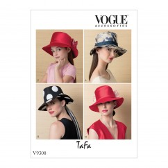 V9308 Misses' and Children's Hats (size: S-M-L (Misses), S-M-L (Kids))