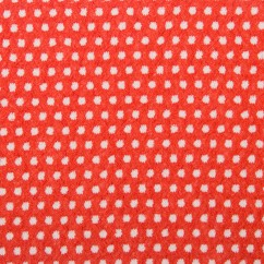 DOTTY Stretch Jacquard - Burnt orange